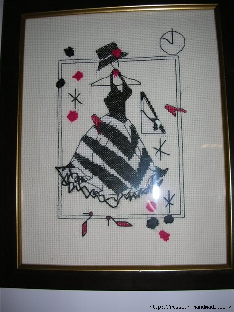 Вышивка крестом. Дамочки в платьях (17) (480x640, 166Kb)