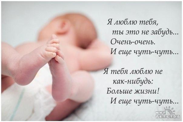 Статусы о моем малыше