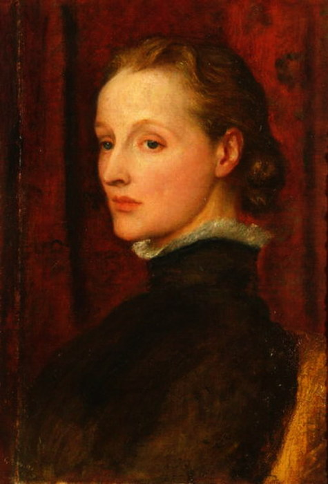 Portrait of Mary Fraser Tytler, afterwards Mary Seton Watts 1887 (475x700, 58Kb)