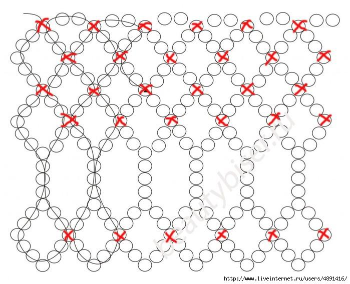 Фото схемы плетения фигурок из резинок 14