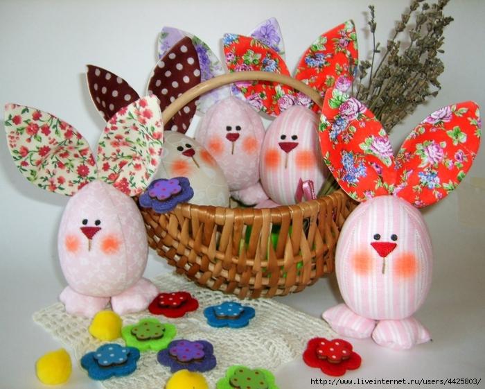 Как сделать пасхального кролика своими руками из яйца - Vingtsunspb.ru