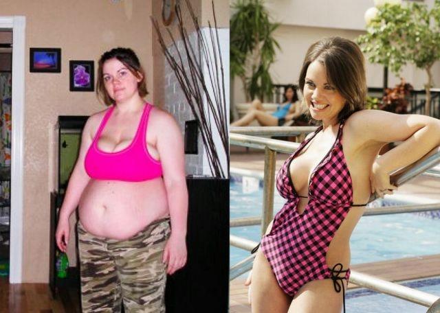 девушки похудевшие до и после фото