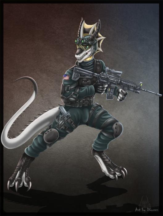 anthro_wyvern_soldier_by_drakainaqueen-d4bstcb (528x700, 369Kb)