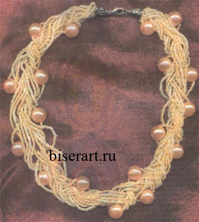 Бусы и ожерелья из бисера своими руками