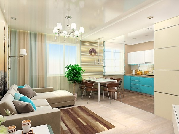 дизайн маленьких квартир (21) (604x453, 143Kb)
