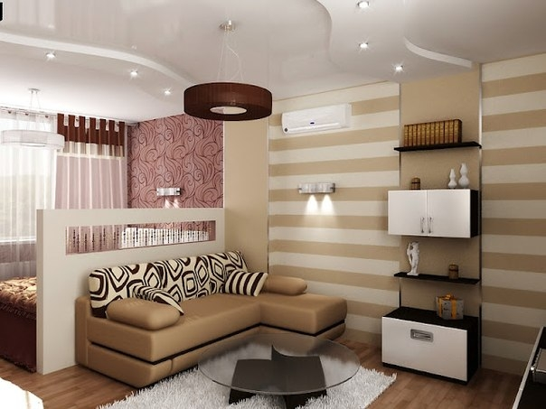 дизайн маленьких квартир (23) (604x453, 138Kb)