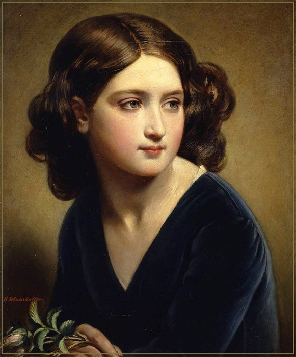 Hermann Winterhalter (1808 � 1891, German) (581x700, 118Kb)