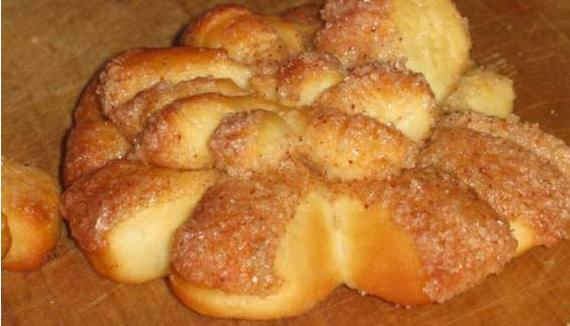 печенье в виде хризантем