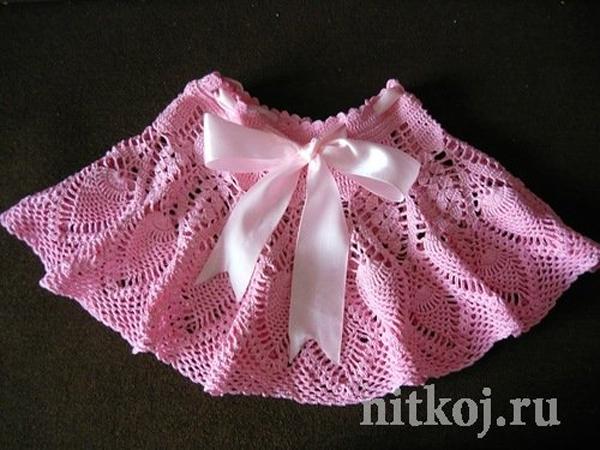 вязание крючком для девочки