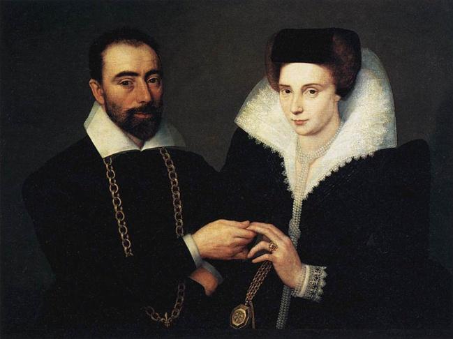 неизвестный художник из франции 1610г семейный портрет (649x486, 99Kb)