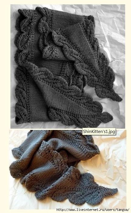 """针织:"""" 罗恩围巾 """" - maomao - 我随心动"""