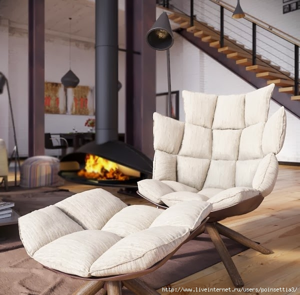 RIP3D-Industrial-Loft-deconstructed-quilted-eames-style-chair-in-open-plan-fireplace-living-600x589 (600x589, 185Kb)