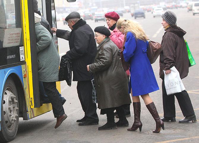Пикет против монетизации льгот на транспортное обслуживание