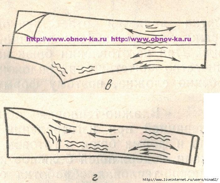 Как сделать стрелки на брюках шитье