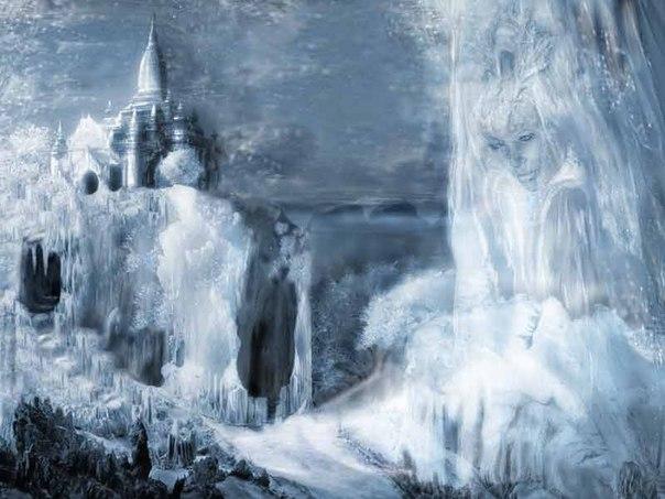 женщина зима картинки