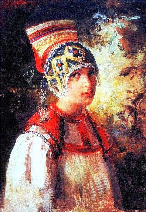 1В.Е.Маковский Крестьянка 1897 (481x700, 121Kb)