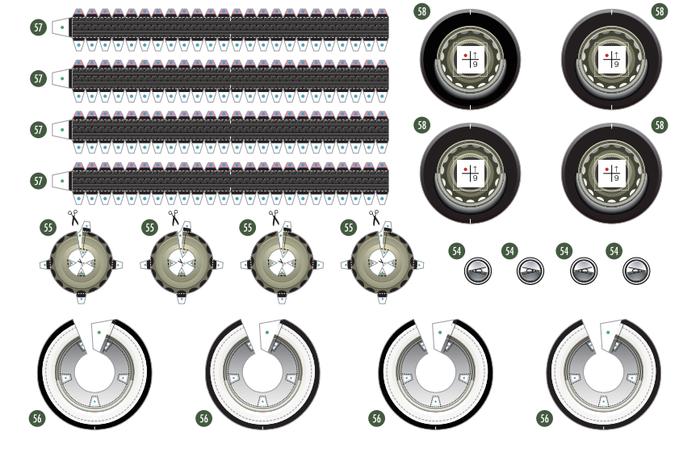 Кабриолет Ford из бумаги. Готовые шаблоны для распечатки (6) (700x461, 308Kb)