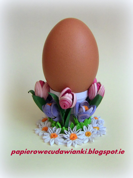 Квиллинг. Подставки для пасхальных яиц (1) (525x700, 307Kb)