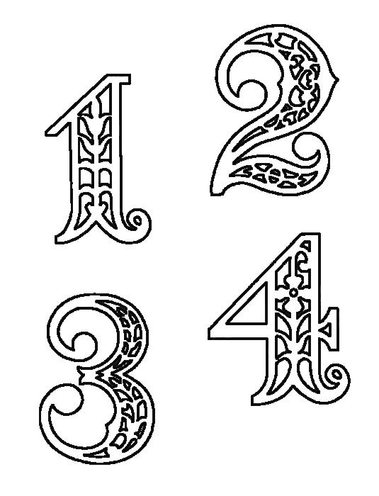 Вытынанки на новый год буквы