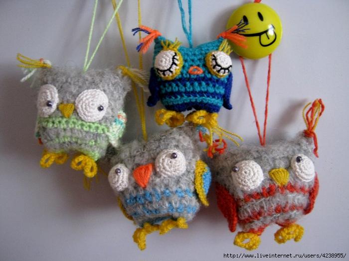 Мои маленькие вязаные игрушки