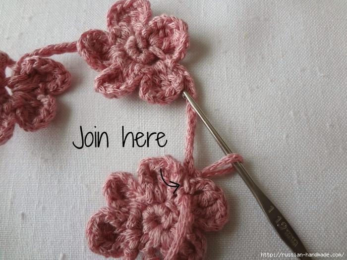 Вязание крючком. Маленькие цветочки для украшения волос (13) (700x525, 322Kb)