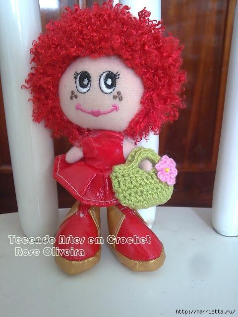 Маленькая сумочка крючком для куколки. Схема (5) (480x640, 214Kb)