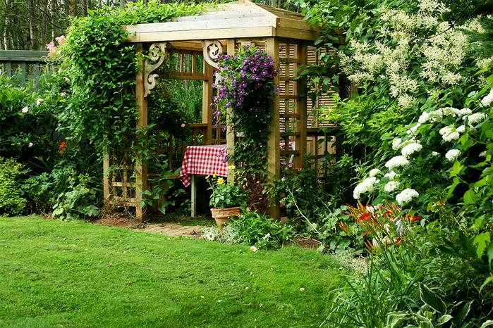 Как сделать уютный сад