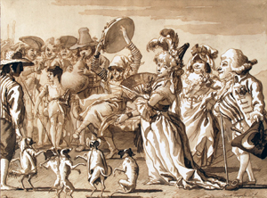 Европейский рисунок XVI - XVIII века