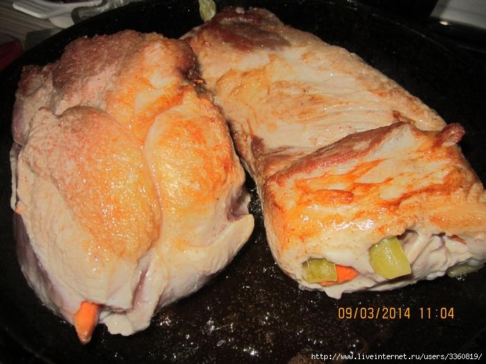 Рецепт курицы с чесноком и черносливом рецепт