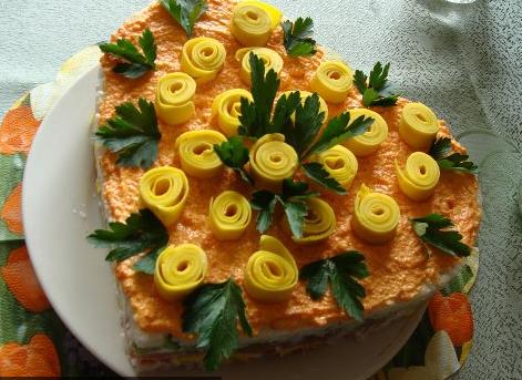 тортик -суши