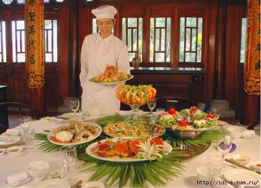 вьетнамская кухня, кухня Вьетнама, блюда вьетнамской кухни,/4682845_tuanchauislandholidayvillahalongbayrestaurant6 (511x369, 192Kb)