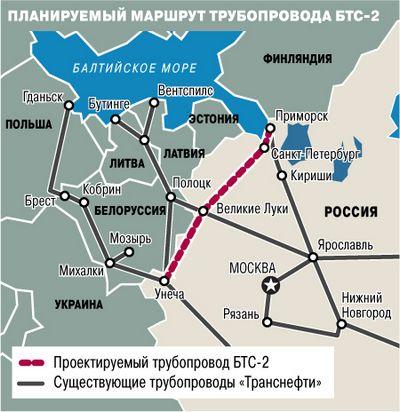 В польской ветке трубопровода 'Дружба' закончилась российская нефть