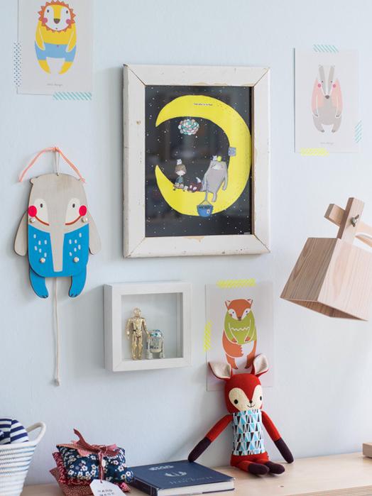 Картина в детскую комнату своими руками 47