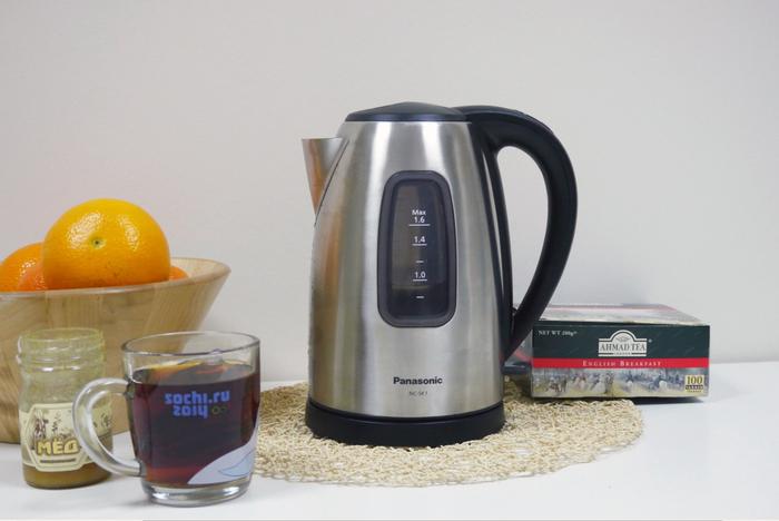 купить хороший недорогой чайник Panasonic модели NC-SK1 как выбрать чайник какой чайник купить