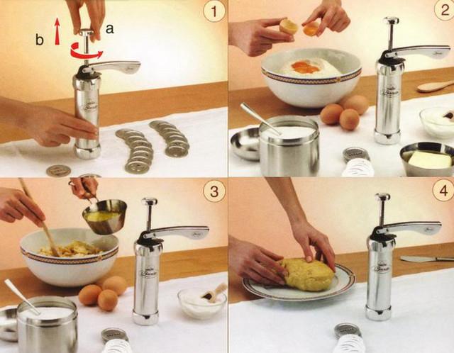 Инструкция для кулинарного шприца