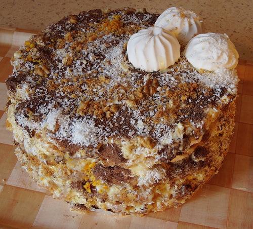 Торт. The cake Birthday (500x452, 132Kb)