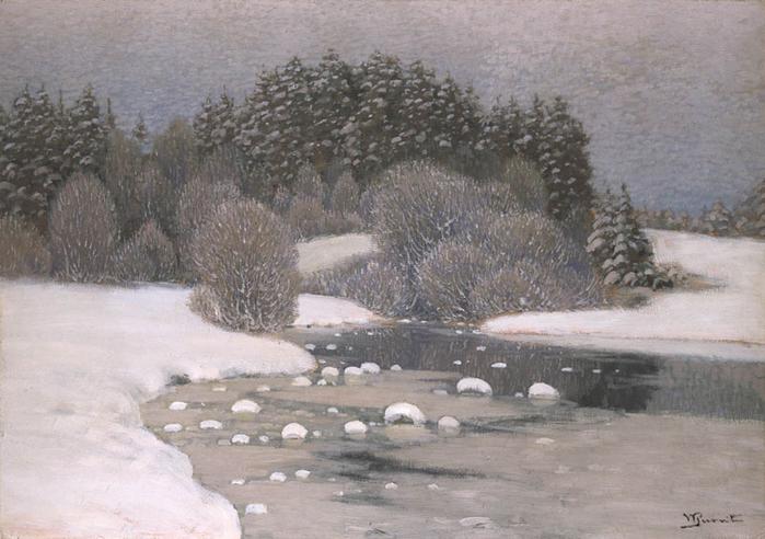 Зима, ок. 1910 (700x492, 336Kb)