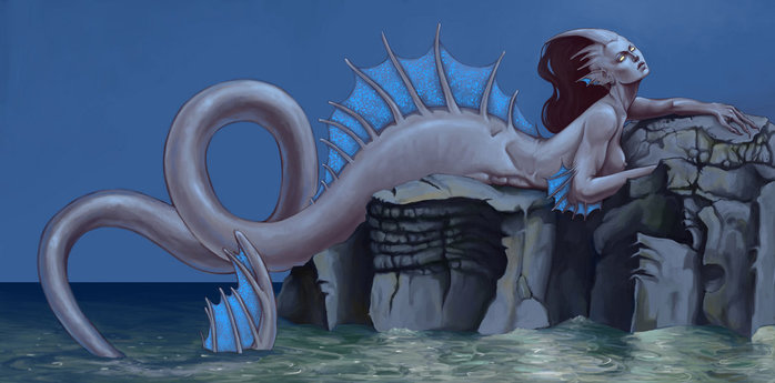 The_Mermaid_by_MeWannaLearn (700x345, 50Kb)