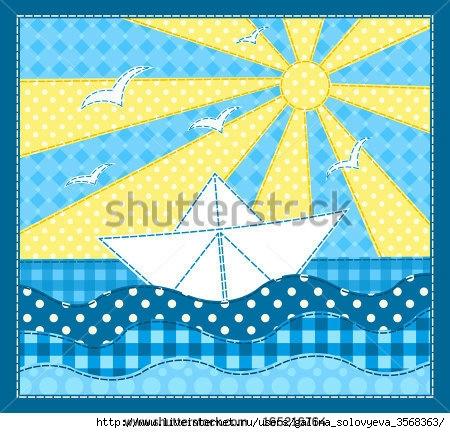 Пэчворк море