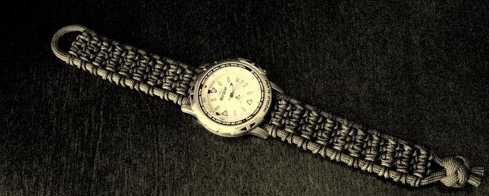 ремешок для часов своими руками (26) (700x280, 247Kb)