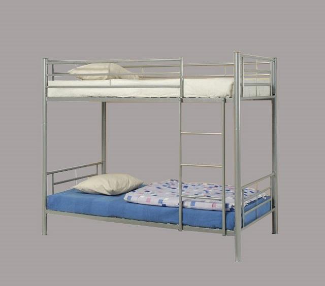 Двухъярусная кровать из металлического профиля своими руками 46