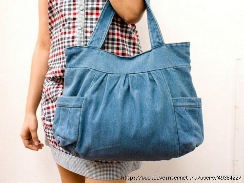 Как сшить сумку клатч из джинсов фото 987