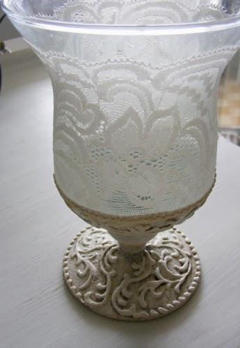 Декорирование бокалов кружевом и шпатлевкой. Красивые идеи (7) (345x500, 106Kb)