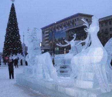 Сани Деда Мороза (389x336, 27Kb)