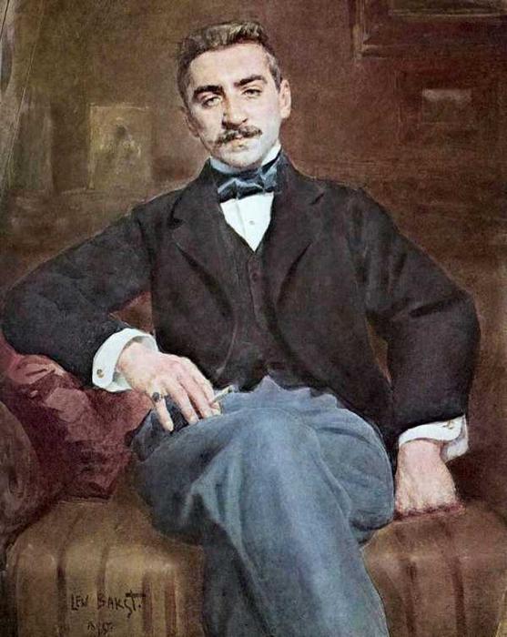 Портрет Вальтера Федоровича Нувеля, 1895 (557x700, 311Kb)