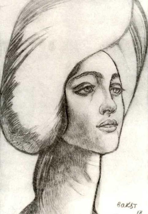 Портрет мадам Т., 1918 (483x700, 192Kb)