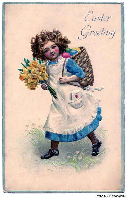 easter girl vintage (449x700, 276Kb)
