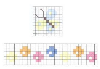 Схемы вышивки комплектов для новорожденных (25) (383x265, 90Kb)
