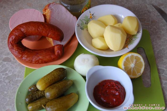 Солянка с колбасой пошаговый рецепт с