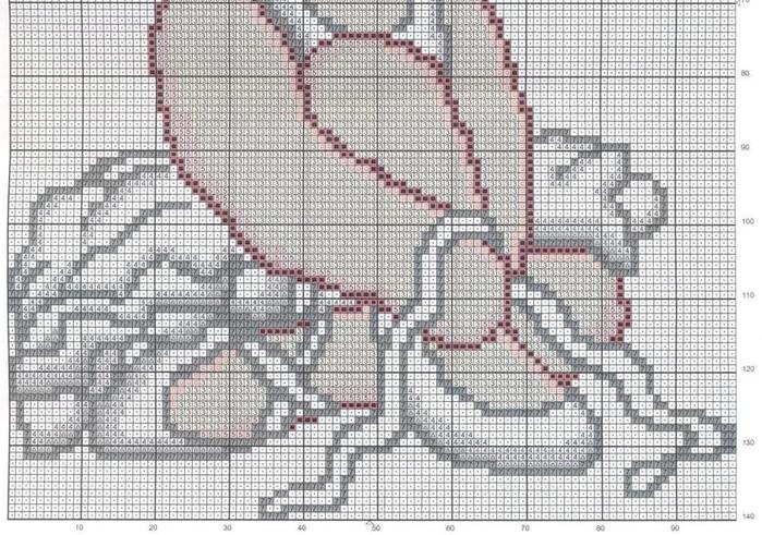 Детская вышивка. Панно БАЛЕРИНКА (2) (700x491, 677Kb)